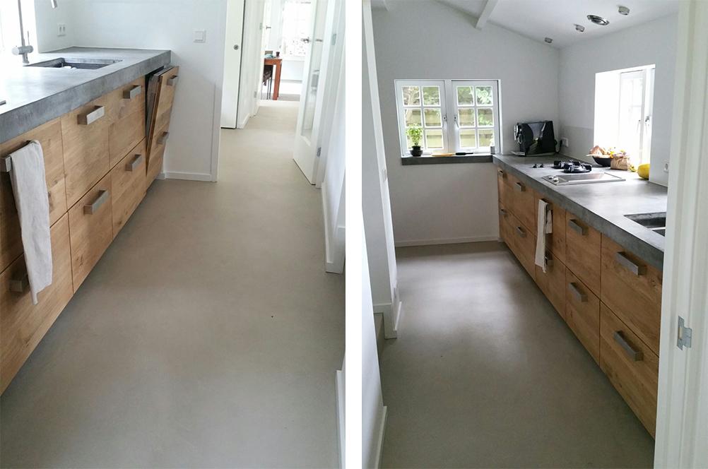 Beton Cire Keuken : Diy keuken luxe beton cire by boncreations beton ciré keuken